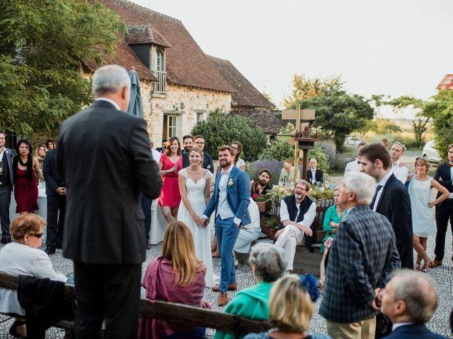 Le mariage de Martin et Roxane à Cussay, Indre-et-Loire 61