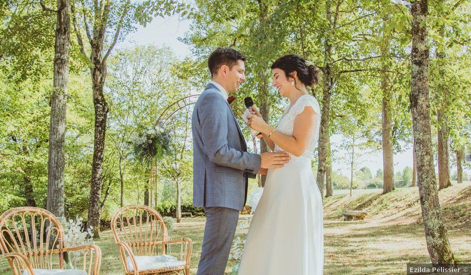 Le mariage de Quentin et Emeline à Béduer, Lot