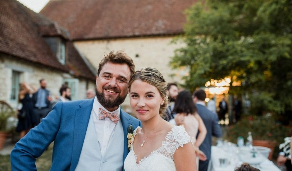 Le mariage de Martin et Roxane à Cussay, Indre-et-Loire