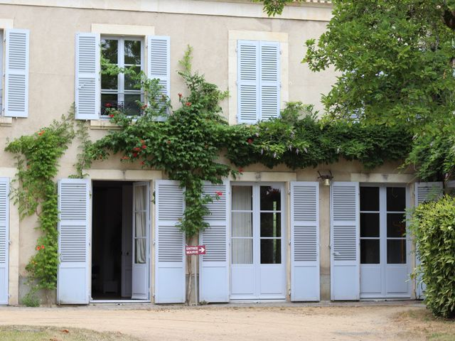 Le mariage de Remy et Flavie à Chantôme, Indre 1