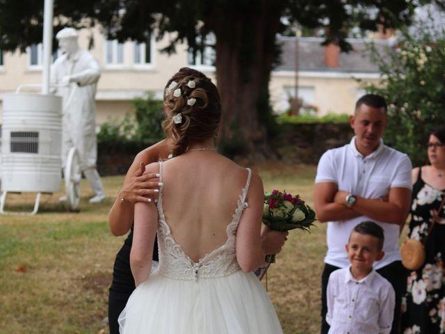 Le mariage de Remy et Flavie à Chantôme, Indre 5