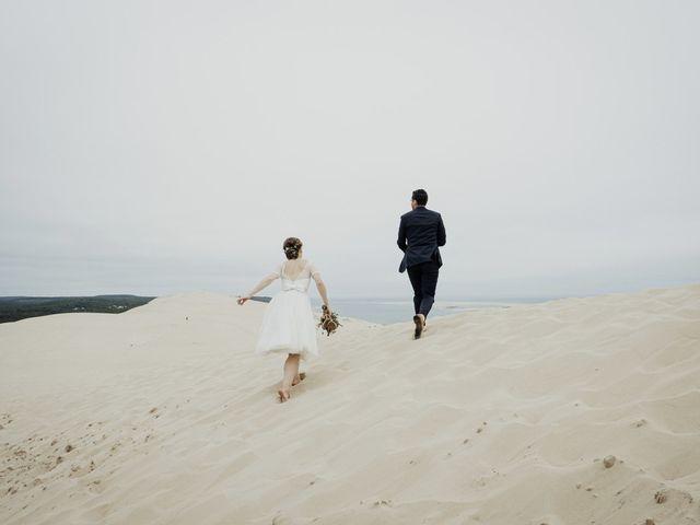 Le mariage de Julien et Marion à La Teste-de-Buch, Gironde 33