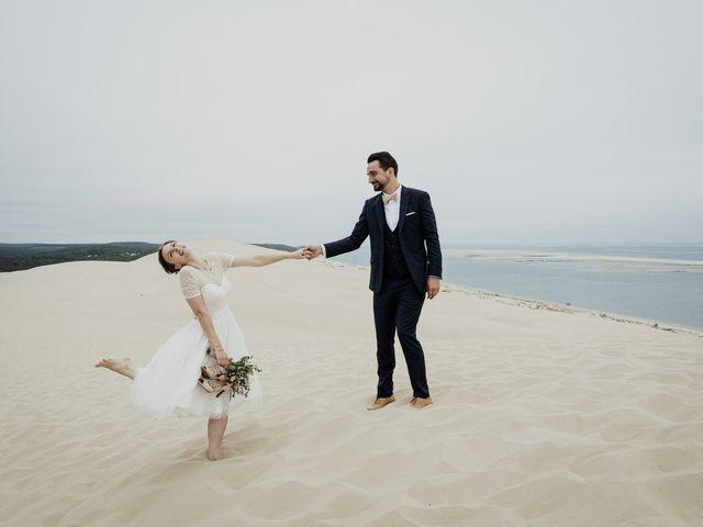 Le mariage de Julien et Marion à La Teste-de-Buch, Gironde 34