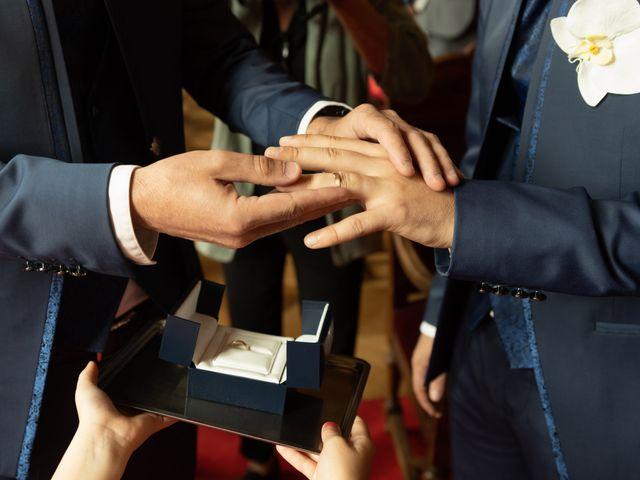 Le mariage de Laurent et Gautier à Paris, Paris 7