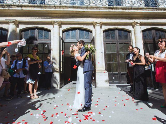 Le mariage de Thomas et Nathalie à Saint-Thibéry, Hérault 12