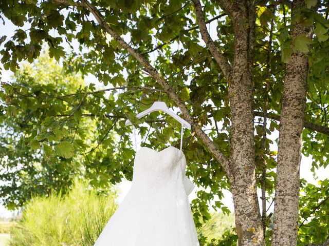 Le mariage de Nicolas et Amandine à Marcoux, Loire 8