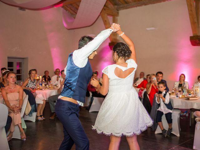 Le mariage de Nicolas et Amandine à Marcoux, Loire 45