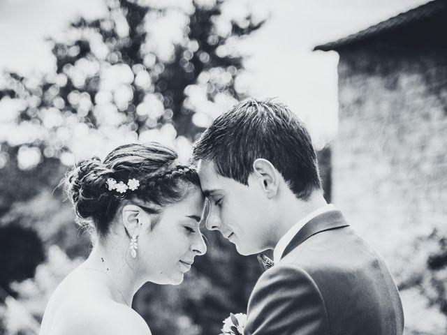 Le mariage de Nicolas et Amandine à Marcoux, Loire 60