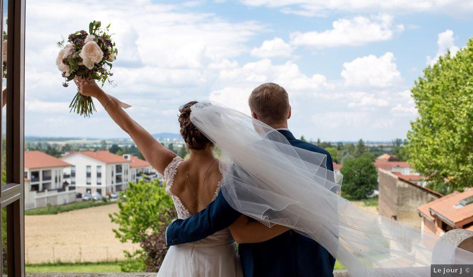 Le mariage de Bertrand et Mathilde à Marennes, Rhône