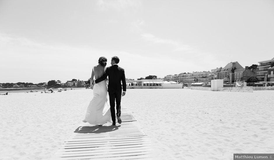 Le mariage de Julien et Géraldine à Saint-Nazaire, Loire Atlantique