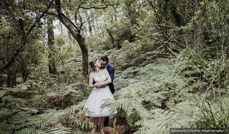 Le mariage de Julien et Marion à La Teste-de-Buch, Gironde