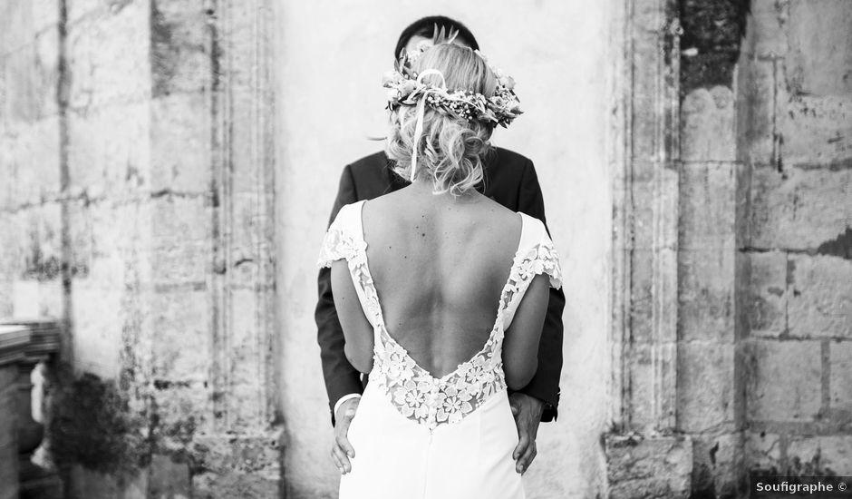 Le mariage de Thomas et Nathalie à Saint-Thibéry, Hérault