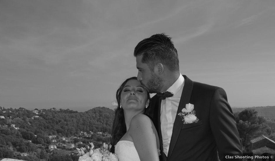 Le mariage de mickaël et audrey à Saint-Paul, Alpes-Maritimes