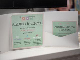 Le mariage de Alexandra et Ludovic 1