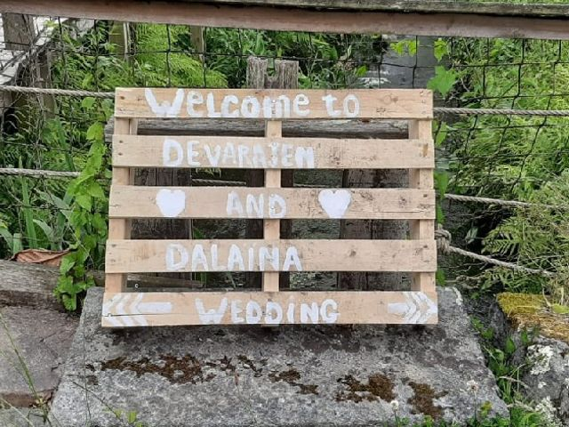 Le mariage de Devarajen  et Dalaina  à Saint-Pierre-de-Plesguen, Ille et Vilaine 2
