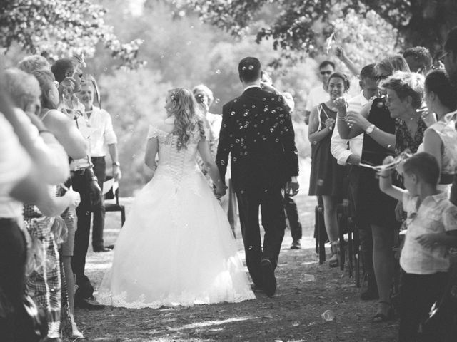 Le mariage de Sébastien et Aline à Montluçon, Allier 13