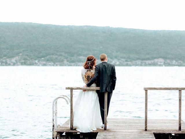 Le mariage de Romain et Samantha à Annecy, Haute-Savoie 14