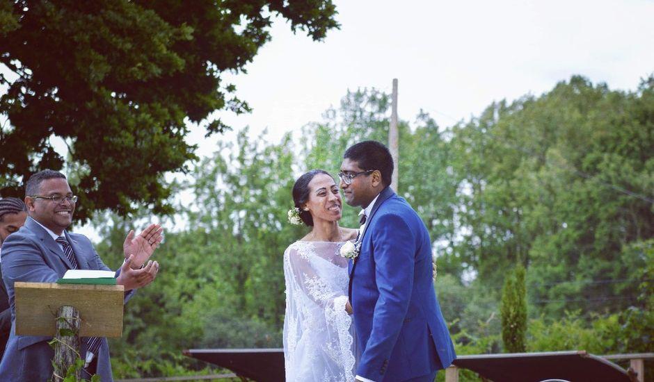 Le mariage de Devarajen  et Dalaina  à Saint-Pierre-de-Plesguen, Ille et Vilaine