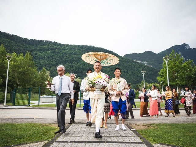 Le mariage de Malisse et Thom à Bonneville, Haute-Savoie 2