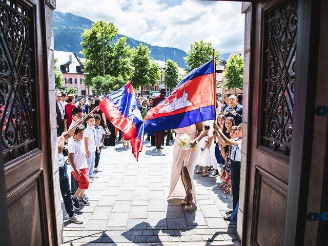 Le mariage de Malisse et Thom à Bonneville, Haute-Savoie 42