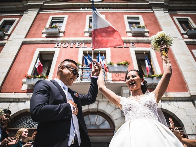 Le mariage de Malisse et Thom à Bonneville, Haute-Savoie 46