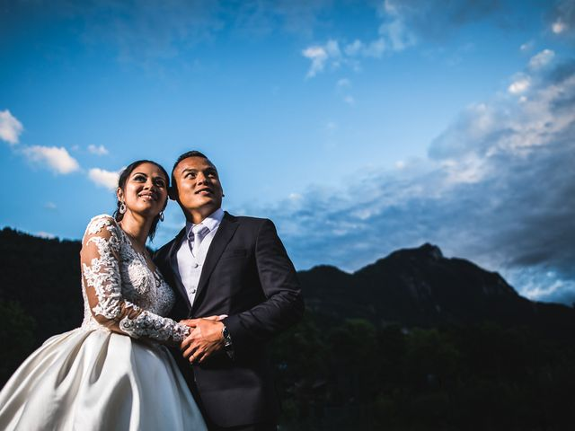Le mariage de Malisse et Thom à Bonneville, Haute-Savoie 60