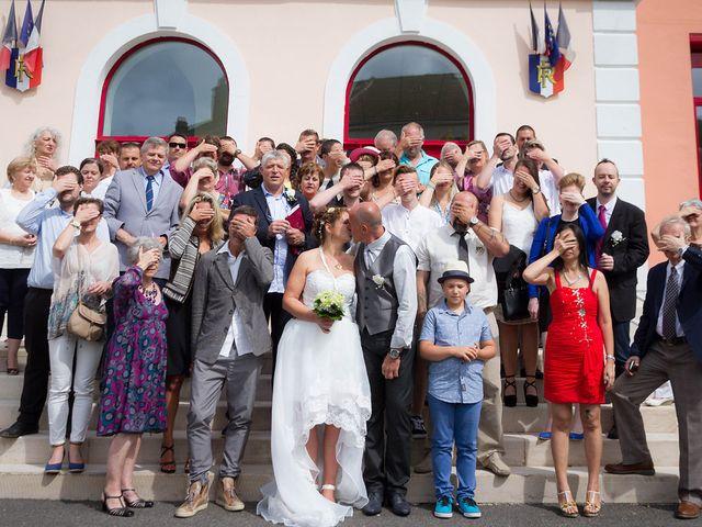 Le mariage de Barbara et Marc à Bellegarde-sur-Valserine, Ain 7