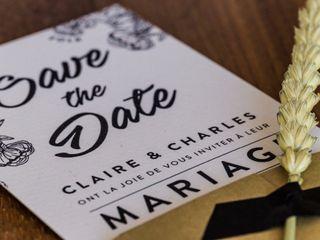 Le mariage de Claire et Charles-Henri 2
