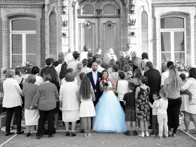 Le mariage de Clément et Emilie à Fouilloy, Somme 11