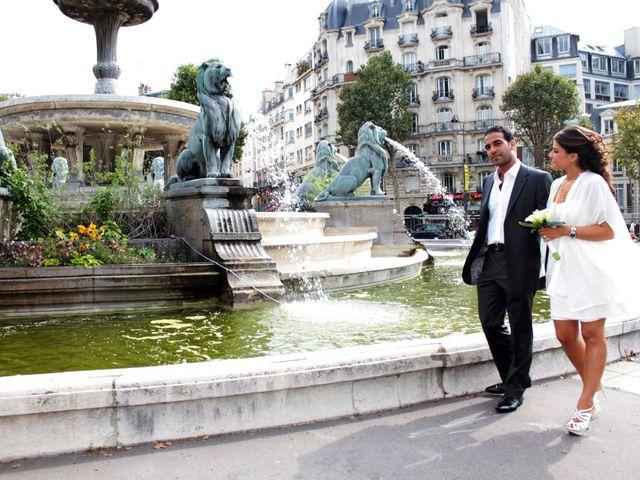 Le mariage de Grégory et Myriam à Paris, Paris 18