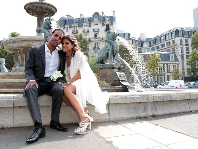 Le mariage de Grégory et Myriam à Paris, Paris 19