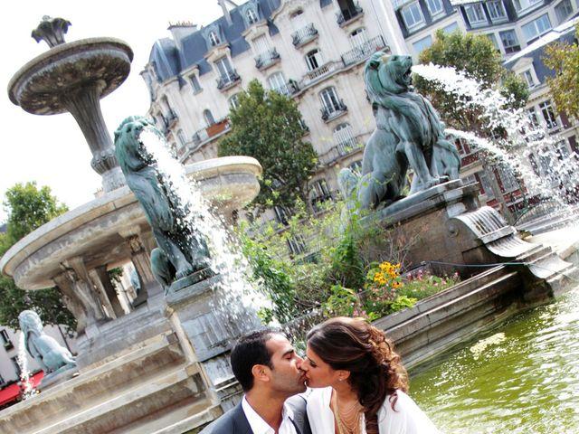 Le mariage de Grégory et Myriam à Paris, Paris 20