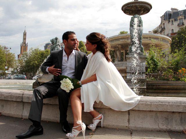 Le mariage de Grégory et Myriam à Paris, Paris 21