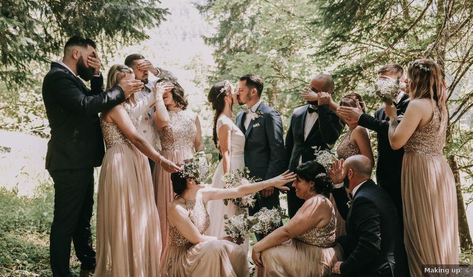 Le mariage de David et Audrey à Lans-en-Vercors, Isère