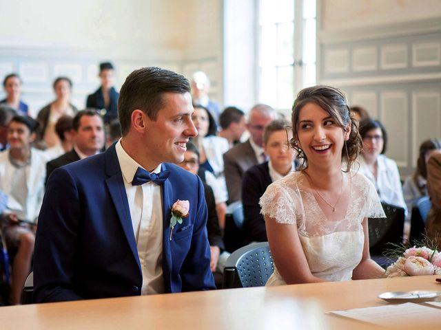 Le mariage de Alexandre et Clémentine à Bierné, Mayenne 15