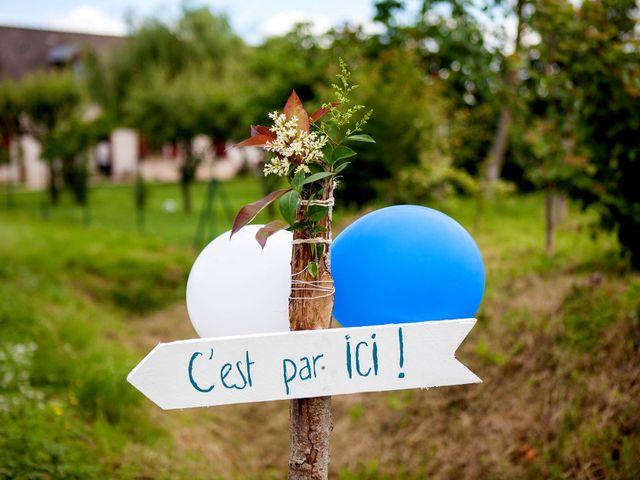 Le mariage de Alexandre et Clémentine à Bierné, Mayenne 30
