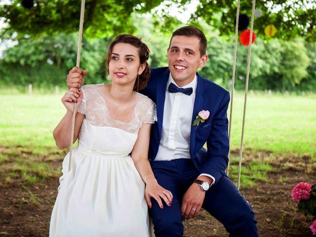 Le mariage de Alexandre et Clémentine à Bierné, Mayenne 34