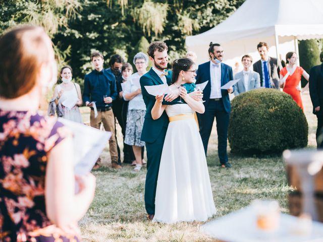 Le mariage de Julien et Alice à Coudrecieux, Sarthe 11