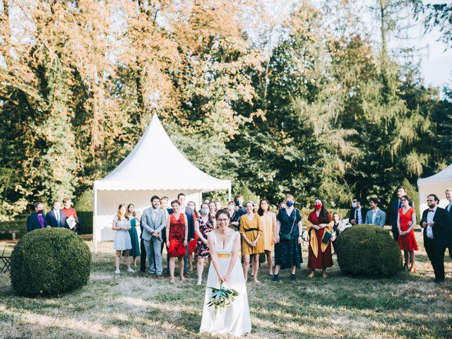 Le mariage de Julien et Alice à Coudrecieux, Sarthe 14