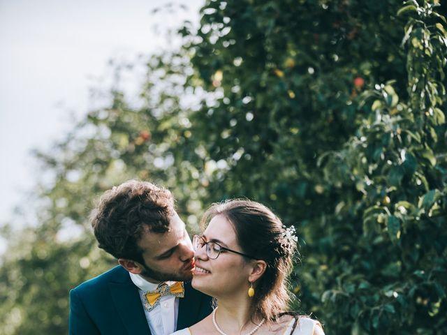 Le mariage de Julien et Alice à Coudrecieux, Sarthe 20