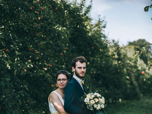 Le mariage de Julien et Alice à Coudrecieux, Sarthe 23