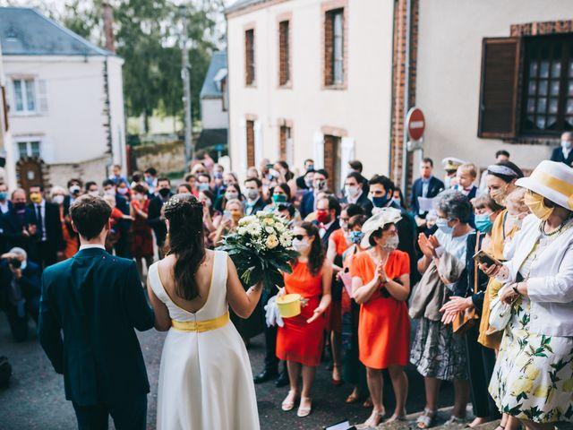 Le mariage de Julien et Alice à Coudrecieux, Sarthe 24