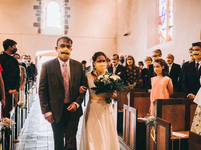 Le mariage de Julien et Alice à Coudrecieux, Sarthe 30