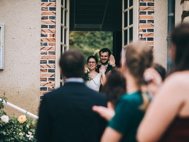 Le mariage de Julien et Alice à Coudrecieux, Sarthe 32