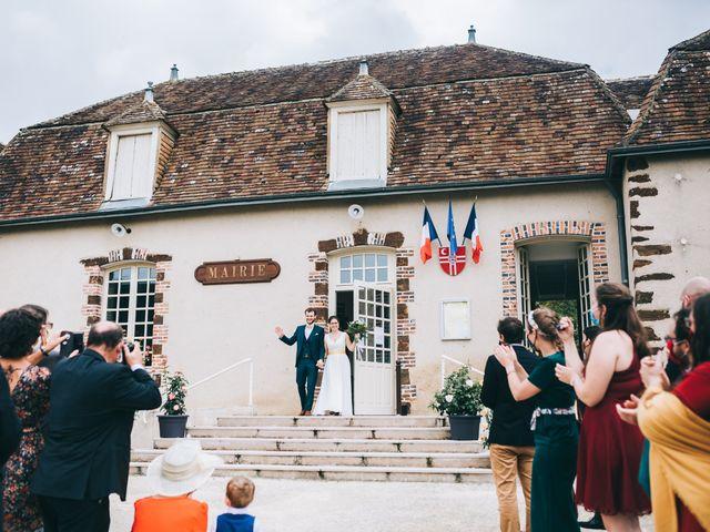 Le mariage de Julien et Alice à Coudrecieux, Sarthe 34