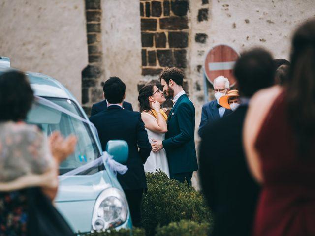 Le mariage de Julien et Alice à Coudrecieux, Sarthe 37
