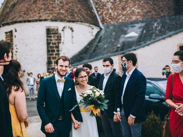 Le mariage de Julien et Alice à Coudrecieux, Sarthe 39