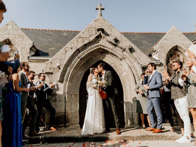 Le mariage de Louis et Gladys  à Plomelin, Finistère 11