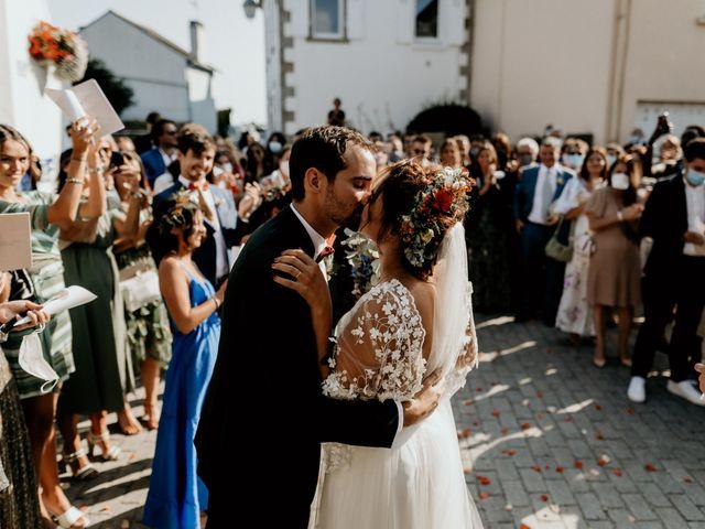 Le mariage de Louis et Gladys  à Plomelin, Finistère 12