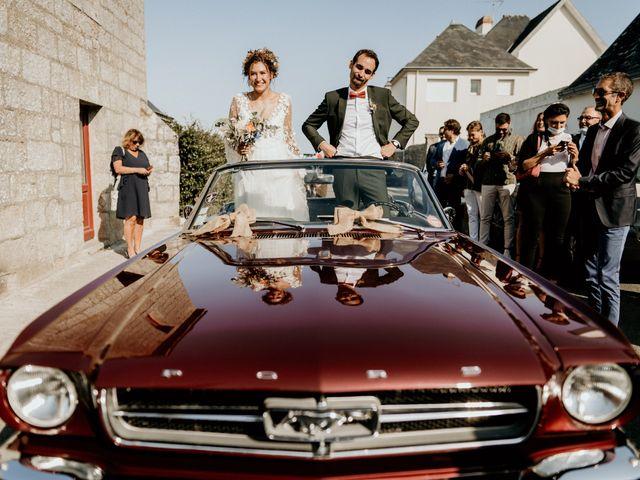 Le mariage de Louis et Gladys  à Plomelin, Finistère 75